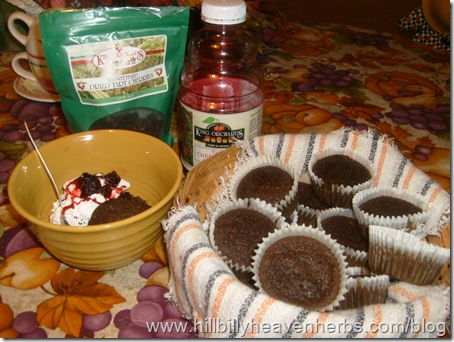 cupcakes, healthy recipes, antioxidants, cherries, juice