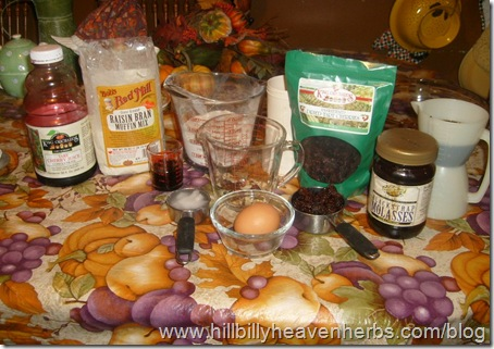 ingredients, recipes, cherry walnut muffins, antioxidants